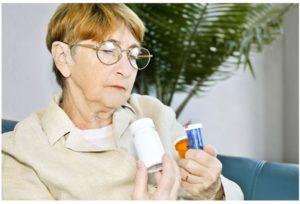 Reacciones de fármacos en adultos mayores